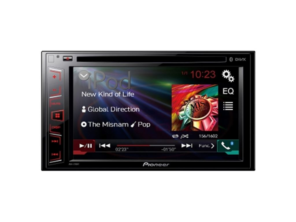 CarAudio Entertainment Sintomonitor Pioneer AVH-270BT