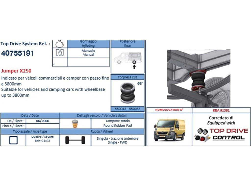 Top Drive System Fiat Ducato X250 Hd Allestimento Esterno