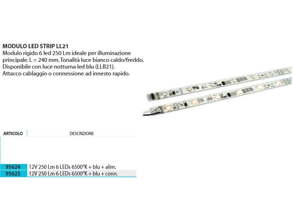 Allestimento interno Illuminazione interna OFO Lux Modulo Led Strip LLB21