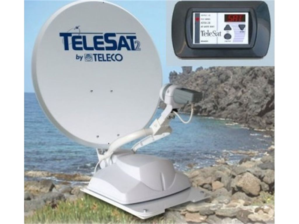 Antenne e Accessori Tv Sistemi Satellitari Teleco Antenna satellitare automatica Telesat S 65