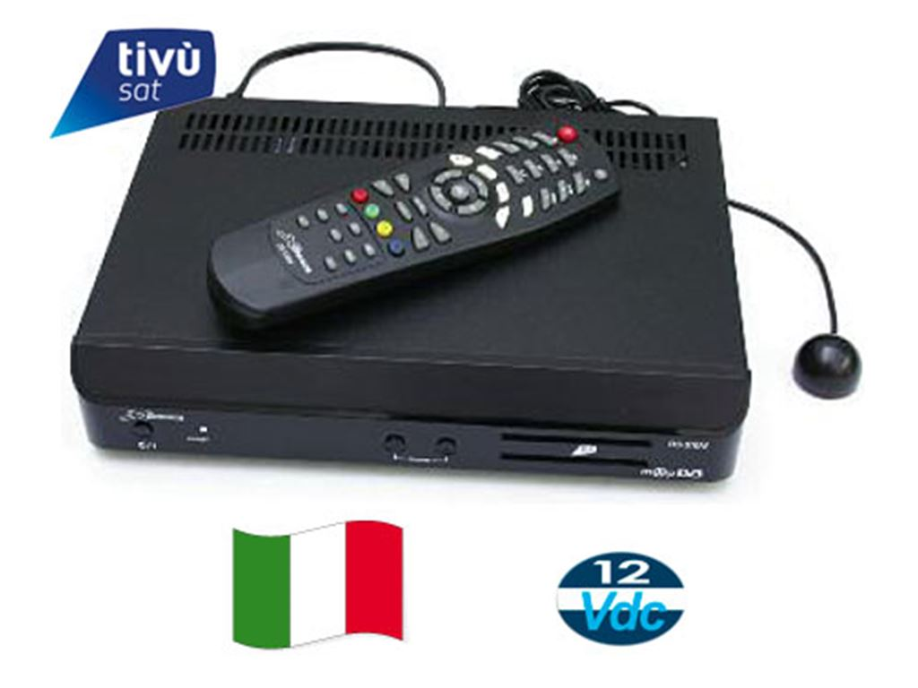Antenne e Accessori Tv Ricevitori Satellitari Fuba Rcevitore Digitale ODE711 con tessera
