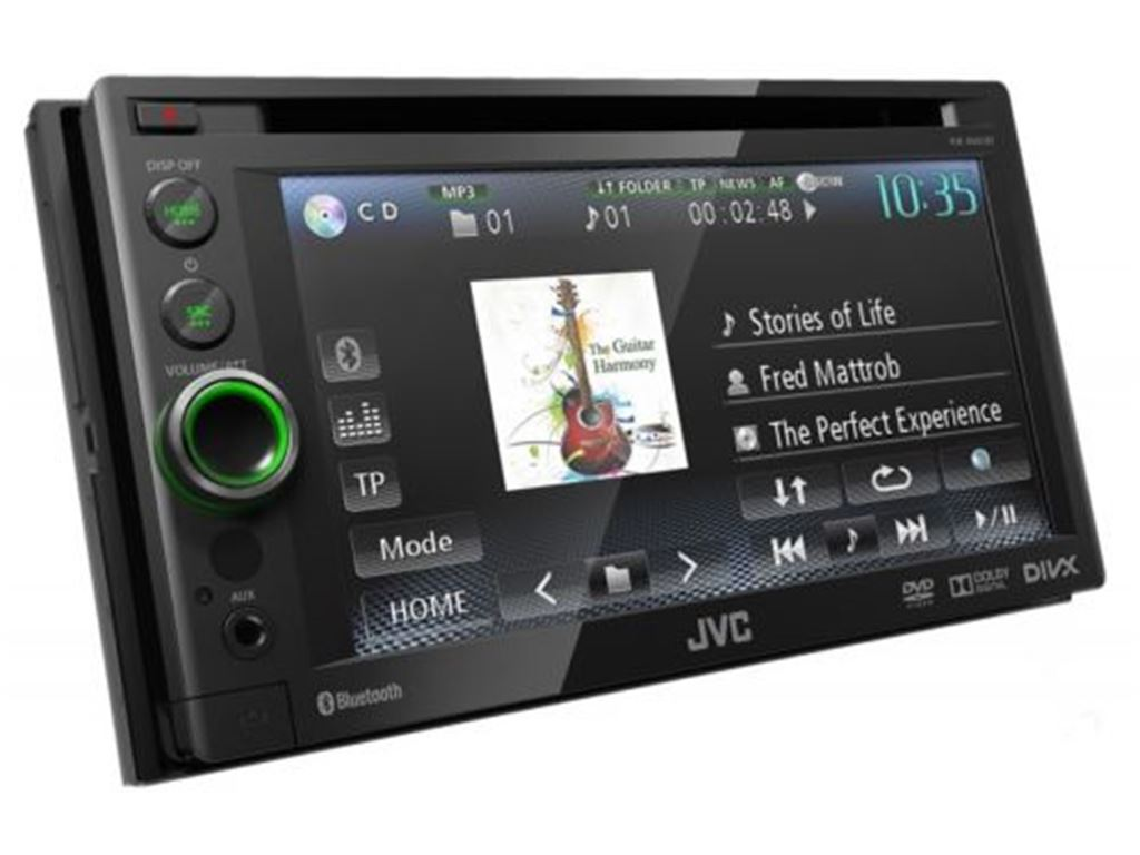 CarAudio Entertainment Sintomonitor JVC Sintomonitor 2 Din