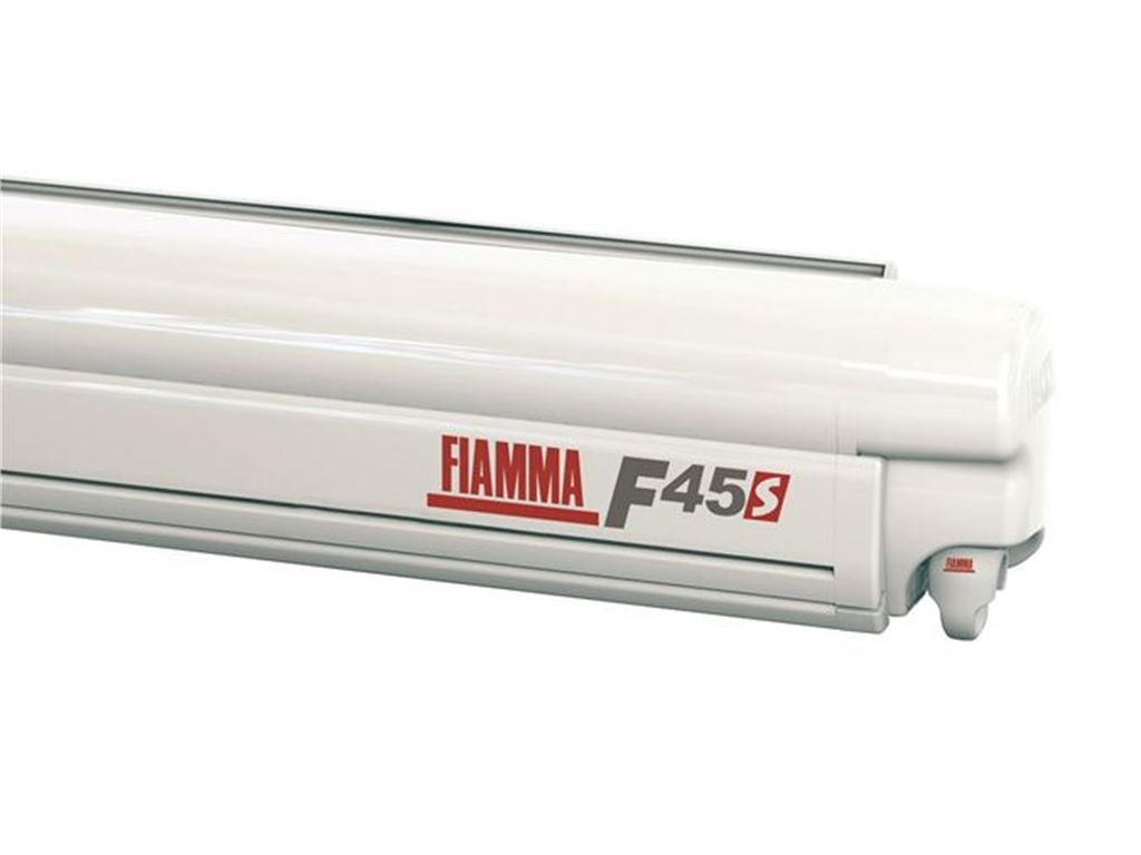 Fiamma Veranda F45 S 260 Cassone Polar White Colore Deluxe Grey foto 1