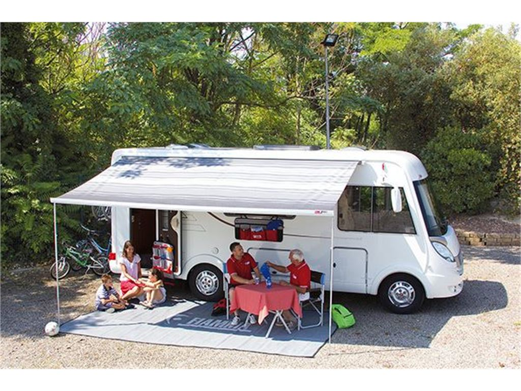 Fiamma Veranda F45 S 260 Cassone Polar White Colore Deluxe Grey foto 3