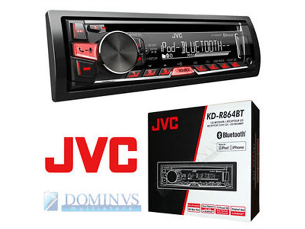 CarAudio Entertainment Autoradio JVC KD-R864BT