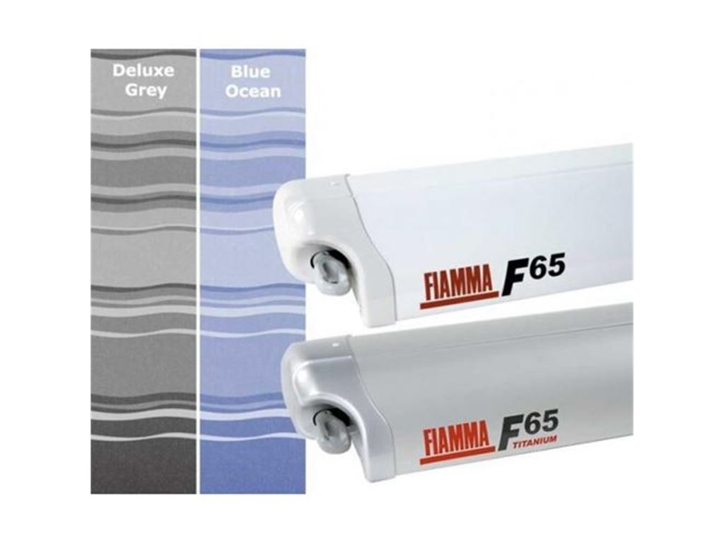 Fiamma Veranda F65 S 400 Cassone Polar White Colore Blue Ocean foto 2