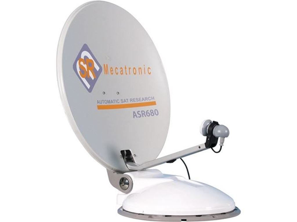 Antenne e Accessori Tv Sistemi Satellitari Mecatronic Antenna Automatica Asr680 Plus